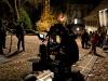 Filmset zum Dreh eines 3-D Horrorfilmes mit Melanie Winiger am 06.11.2010 in Schlossrued auf Schloss Rued. Filmcrew.